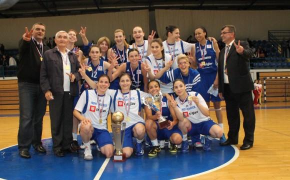 Novi Zagreb – prvakinje Hrvatske 2012/2013