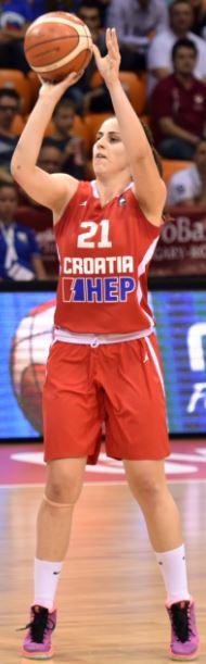 Ružica Džankić na EuroBasketu 2015. u mađarskoj / FIBA Europe