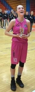 Nika Mühl, MVP završnice kadetskog prvenstva Hrvatske 2017