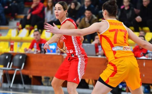 Hrvatska deklasirala Makedoniju i odmah se okrenula utakmici protiv Švedske