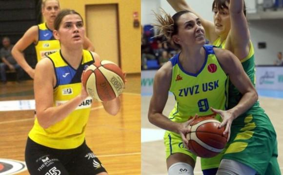 Marija Režan i Andrea Marić naše top košarkašice prošlog vikenda u inozemstvu