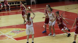 Poluzavršnica Prvenstva Hrvatske za juniorke, rezultati A skupine Zagreb (2.dan)