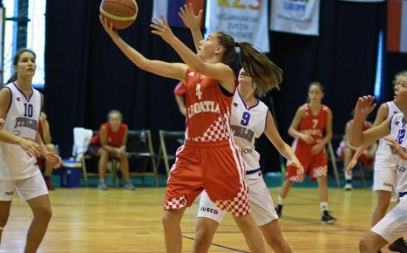 U finalu Prvenstva Hrvatske za juniorke Trešnjevka 2009 i Split