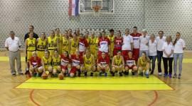 U revijalnoj utakmici u povodu 70. obljetnice ŽKK Split Hrvatska – Split 94:53