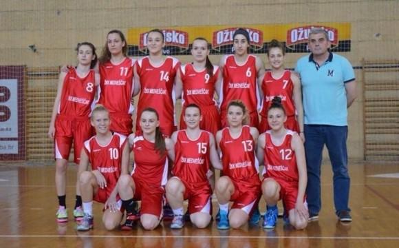 Juniorke Medveščaka treće, Vodice četvrte u državi