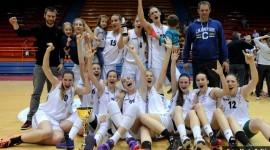 Trešnjevka 2009 – juniorske prvakinje Hrvatske 2014/15