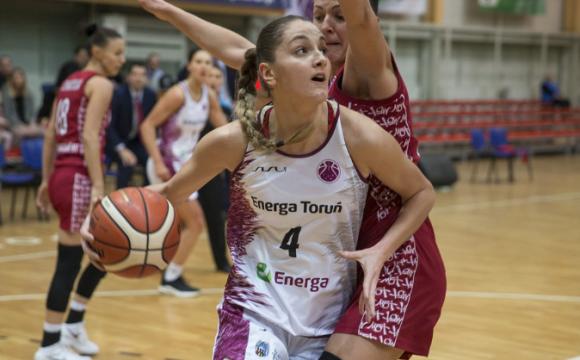 U 4. kolu EuroLige i EuroCupa pobjedu ostvario samo Energa Torun Ana-Marije Begić