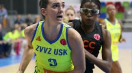 Marija Režan sa svojim  USK Pragom u polufinalu EuroLige
