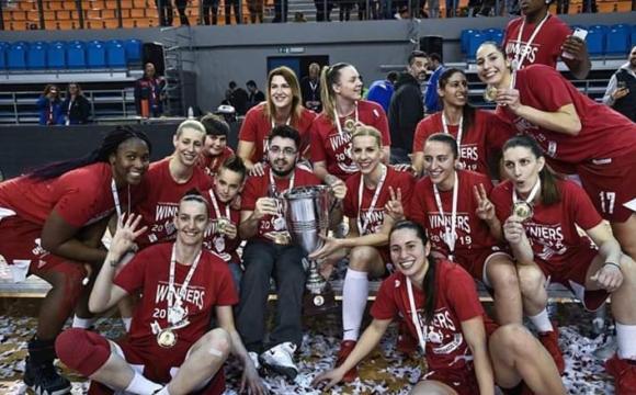 Ivana Tikvić s Olympiacosom osvojila kup Grčke