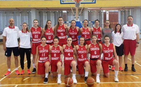 Određeno 12 reprezentativki juniorske Hrvatske za EP u Sarajevu