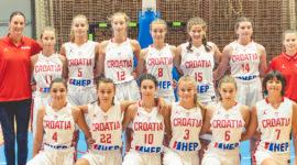 Gledajte uživo Hrvatsku U-14 večeras u finalu protiv Mađarica
