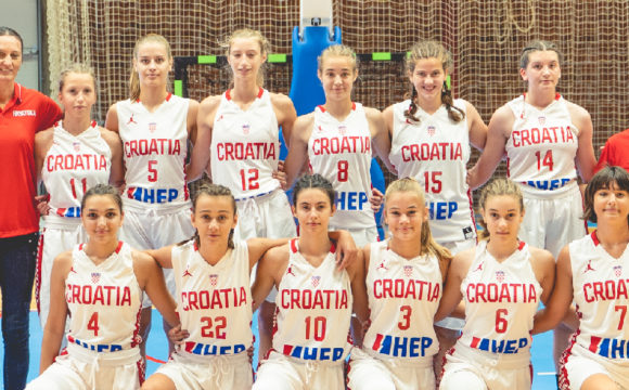 Hrvatska U-14 najbolja na Slovenia Ballu 2019