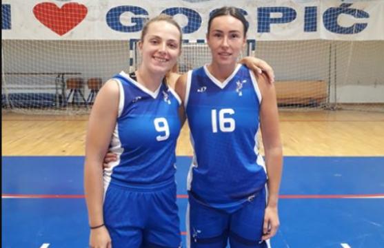Folkice Bodrožić i Samaržija Mikša u Gospiću