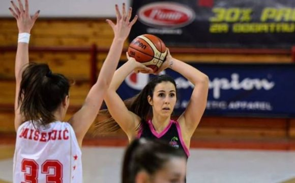 Anja Majstorović Top 1 jedanaestog kola Prve ženske lige