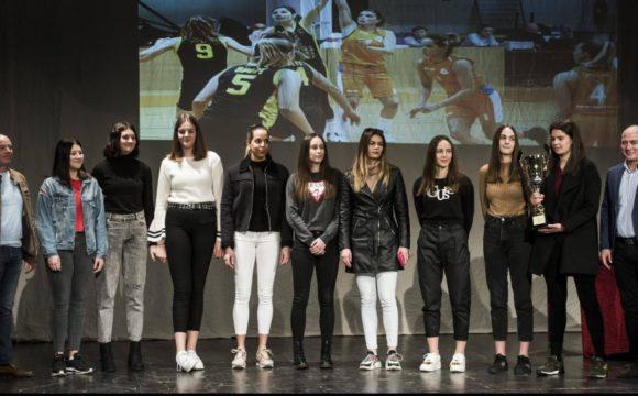 Košarkašice Šibenika najbolja ženska ekipa Šibenika 2019. godine