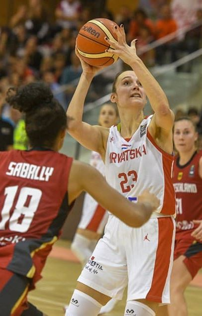 Andrijana Cvitković hrvatska je seniorska reprezentativka